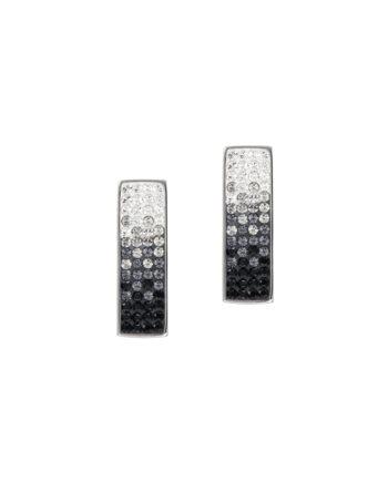 Елегантни обеци с кристали Swarovski и висококачествена стомана Twillight Collection