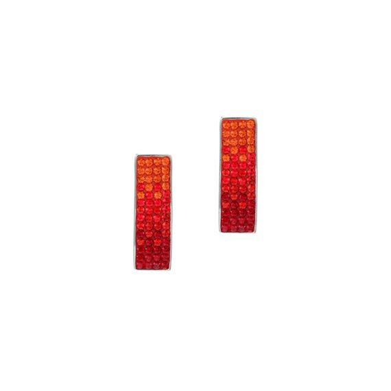 Красиви обеци с кристали Swarovski и висококачествена стомана Twillight Collection