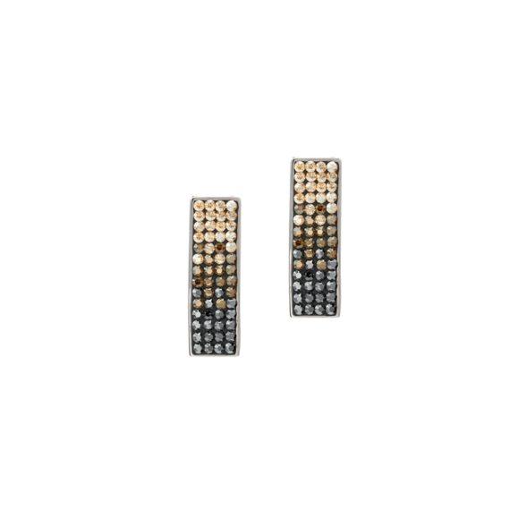 Модерни обеци с кристали Swarovski и висококачествена стомана Twillight Collection