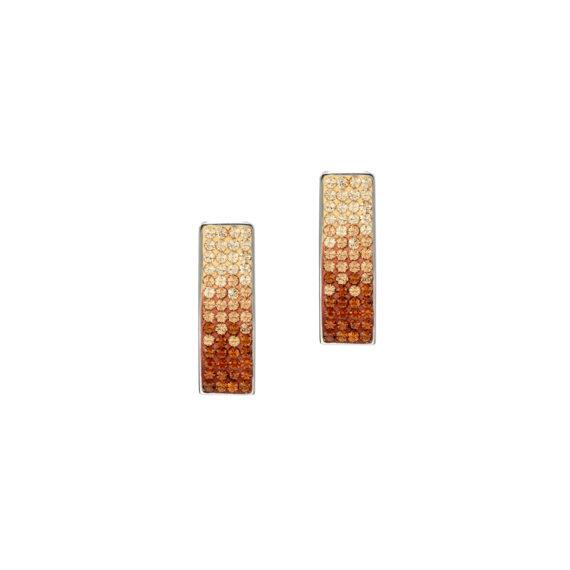 Свежи обеци с кристали Swarovski и висококачествена стомана Twillight Collection