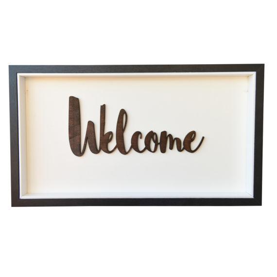 Постер за стена Welcome