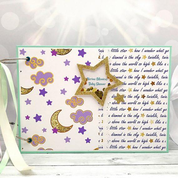 """Голяма книга за пожелания и албум """"Twinkle, twinkle little star"""""""