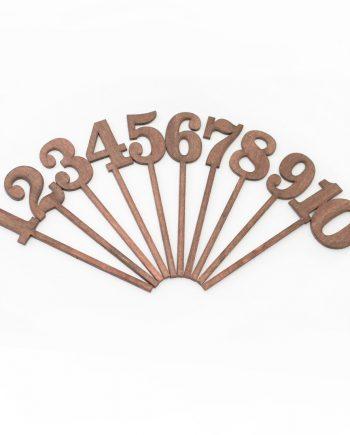 Номера за маса - за ваза или кашпа