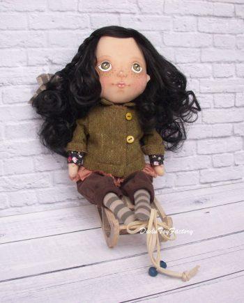 Чаровна кукла за гушкане ЕВА