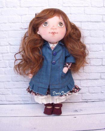 Красива кукла за гушкане КАТЯ