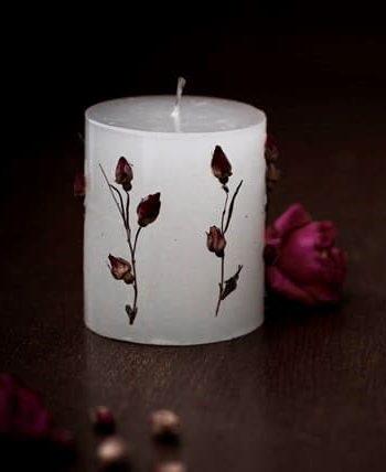 Свещ БЕЛЛА Роза