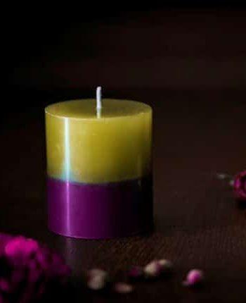 Свещ БЕЛЛА двуцветна 2