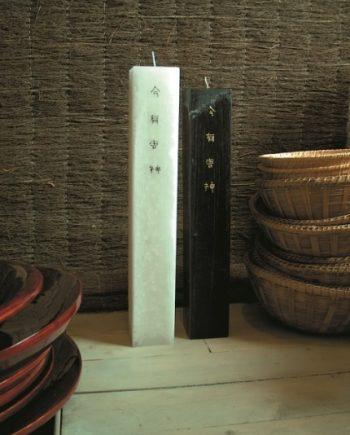 Голяма свещ АНДИ Япония/черна