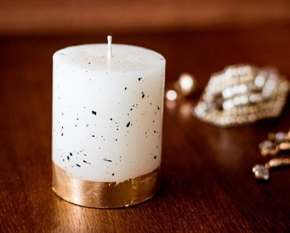 Свещ БЕЛЛА / Злато
