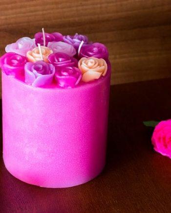 Свещ БЕЛЛА Рози