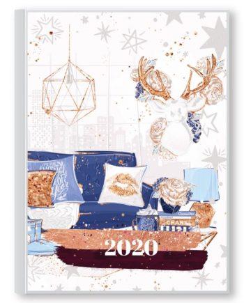Датиран планер за 2020 г. Home sweet home