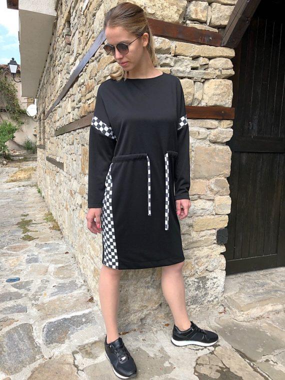 "Дaмска рокля ""Chess"""