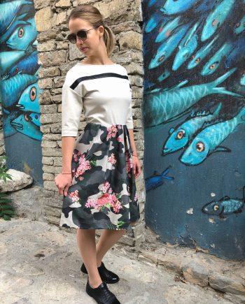 "Дaмска рокля ""War Flower"""