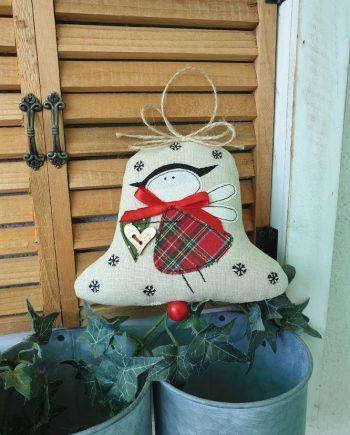 "Висящ орнамент ""Коледна камбанка"""