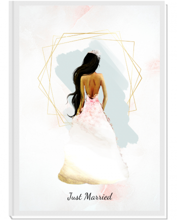 Луксозен сватбен органайзер Just Married 1