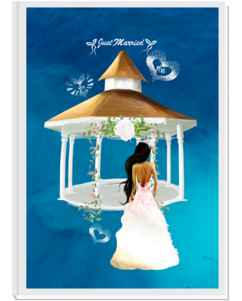 Луксозен сватбен органайзер Just Married 2