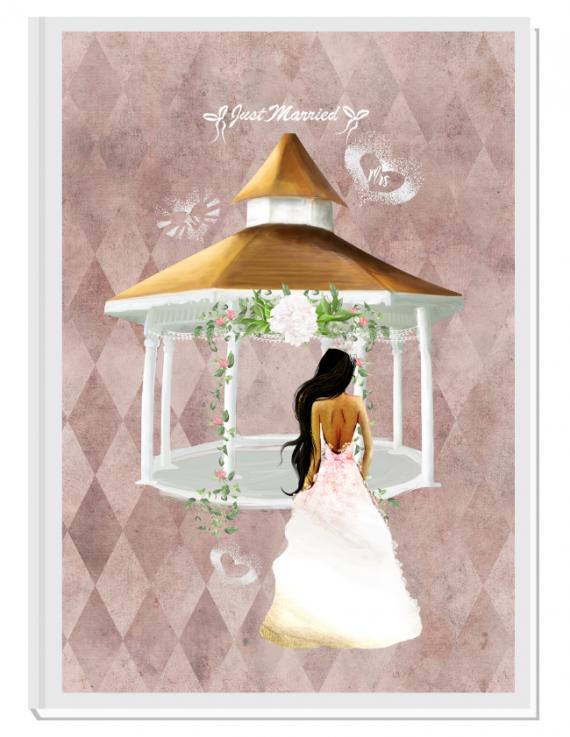 Луксозен сватбен органайзер Just Married 3