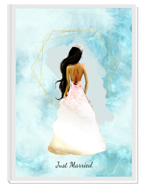 Луксозен сватбен органайзер Just Married 4