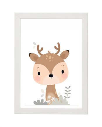 Весел постер Deer