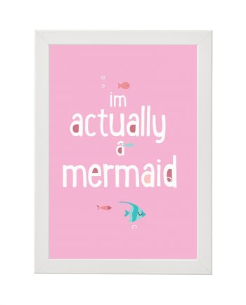 Постер I am actually a mermaid