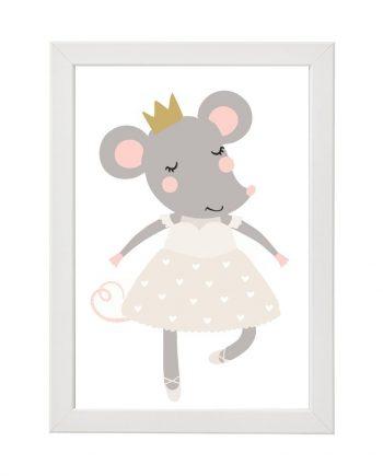 Постер Мишле балеринка