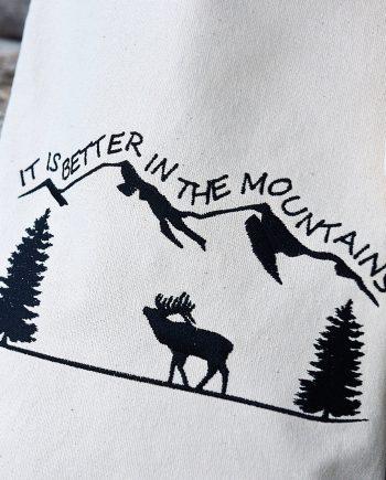 Памучна чанта – В планината