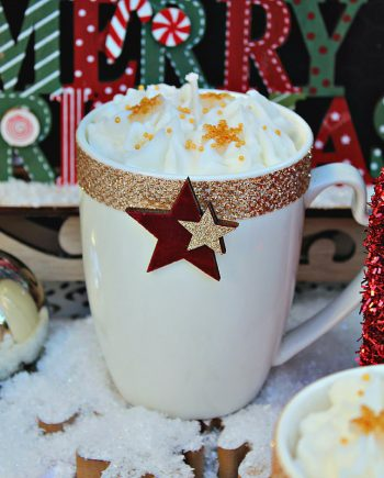 Декоративна ароматна свещ Нежна Коледа
