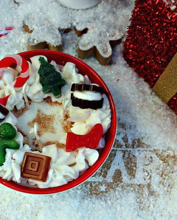 Коледна купичка - ароматна свещ