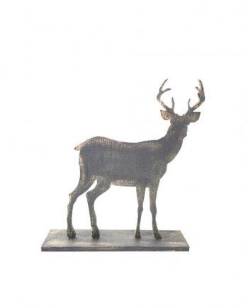 Декоративна фигурка елен с поставка