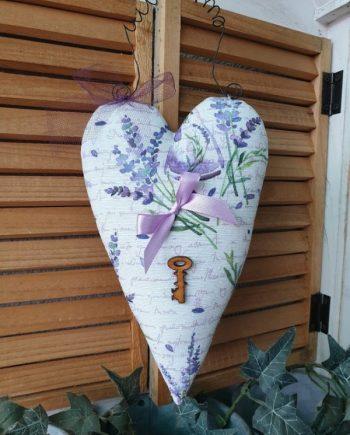 Лавандулово сърце