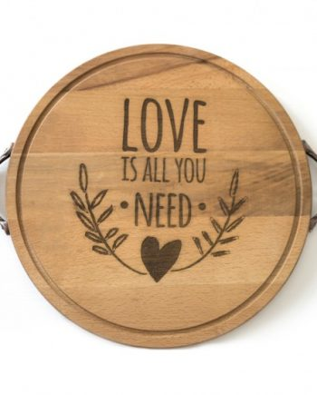 "Поднос ""Love is all you need"""