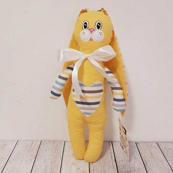 Играчка от плат зайче бебе