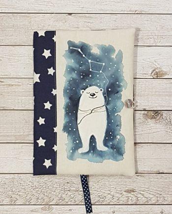 """Рисувана подвързия за книга """"Голямата мечка"""""""