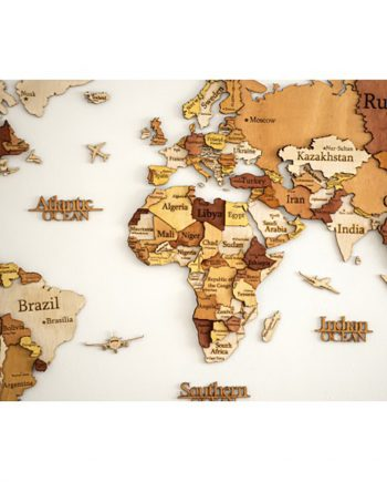 3D Карта на света